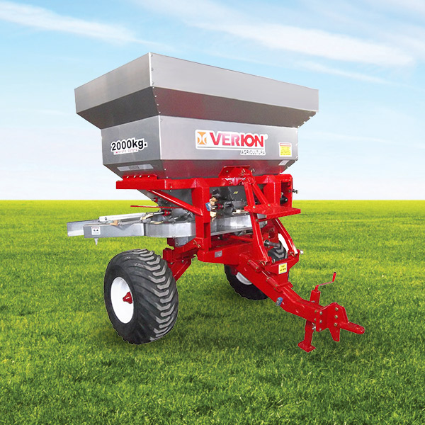 Fertilizer planter with or without precision carriage, Capacity 2000 l