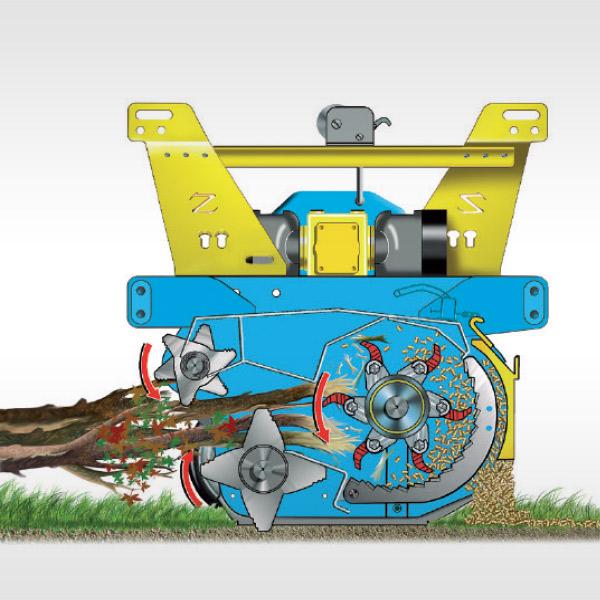 Heavy Service - TRK, pruning waste